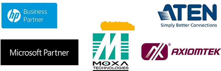 En Integra Network somos parner de HP Business Parner, Intel Gold Parner, ATEN, Microsoft, Moxa y Axiomtek
